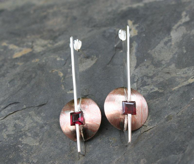 garnet-lolipop-earrings